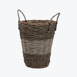 Beautiful round sea grass storage basket kids and large storage basket with handles also storage bin corner basket