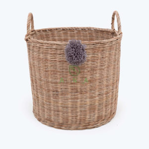 natural rattan laundry basket from only $8.34