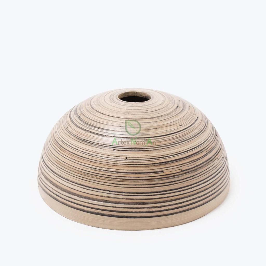 Handmade, Round Lampshades made of Bamboo