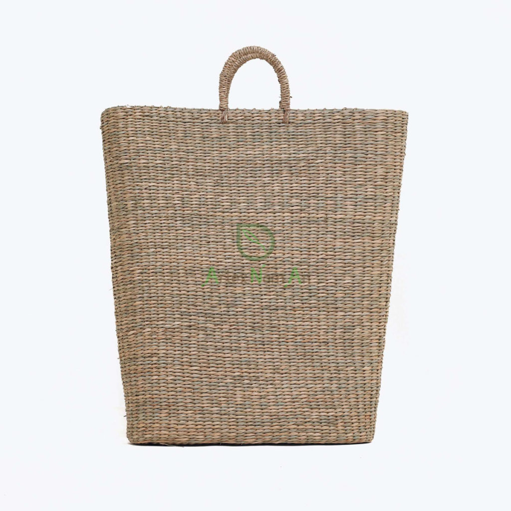 Eco-friendly, Trapezoid Storage & laundry baskets made of Seagrass
