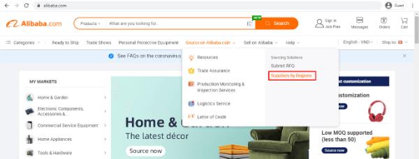 online b2b marketplaces alibaba