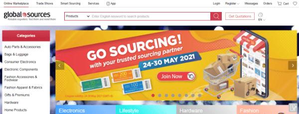 online b2b marketplaces global sources